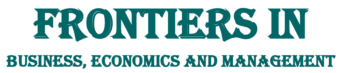 Frontiers in Business, Economics and Management